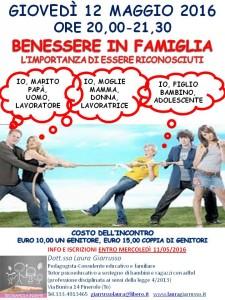 BENESSERE IN FAMIGLIA_MAGGIO